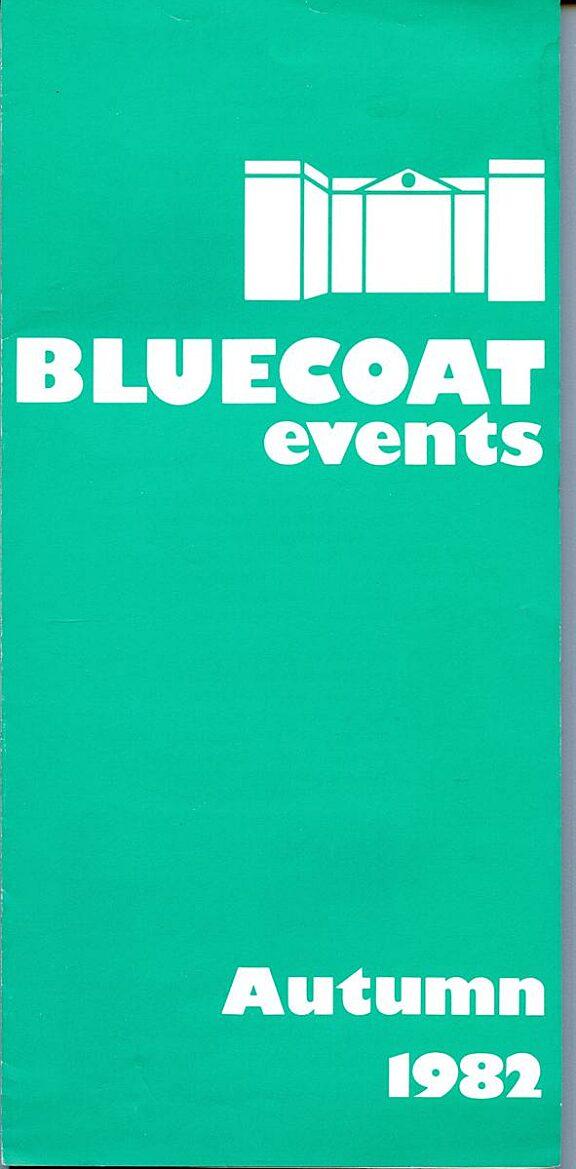 Autumn 1982 Events Brochure