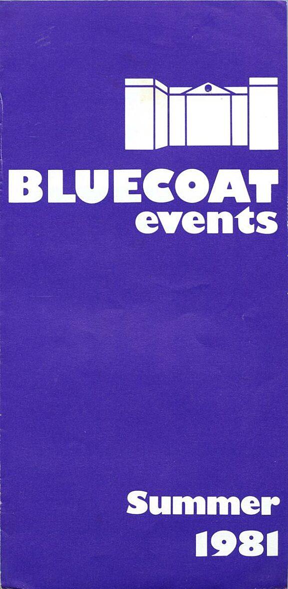 Summer 1981 Events Brochure