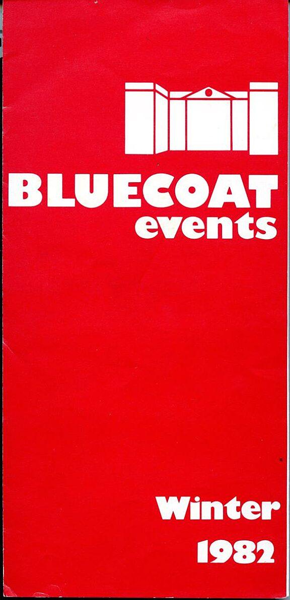 Winter 1982 Events Brochure