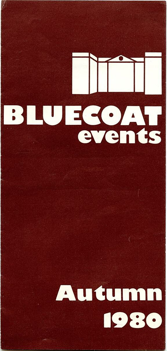Autumn 1980 Events Brochure