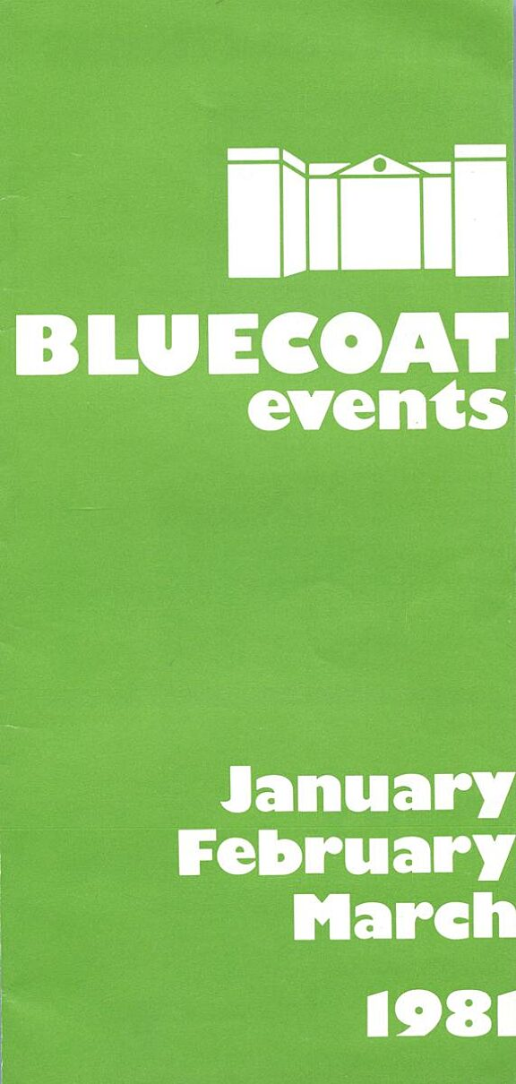 January - March 1981 Events Brochure