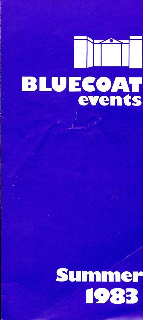 Summer 1983 Events Brochure