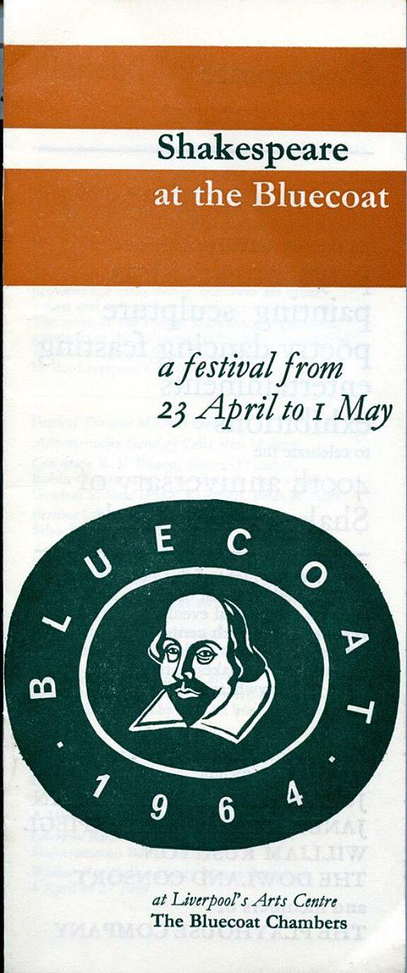 Shakespeare Festival Brochure