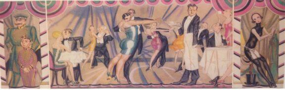 Sandon cabaret design by George Harris