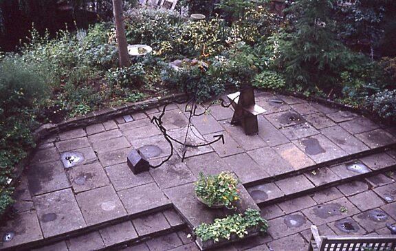 New Art North West sculpture in Bluecoat Garden, Jill Randall