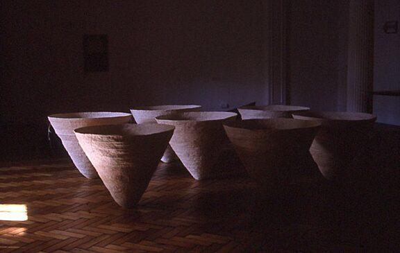 Restless Shadows Contemporary Japanese Fibre works