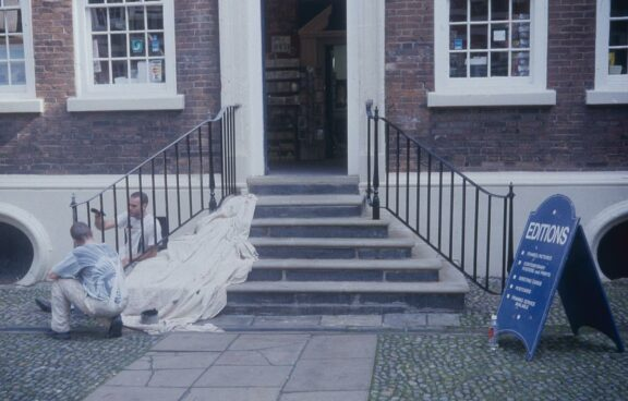 Bluecoat handrails