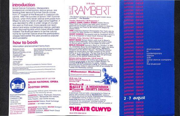 Summer Dance, 1981