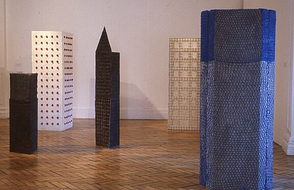 Sophie Horton installation, New Sculpture exhibition