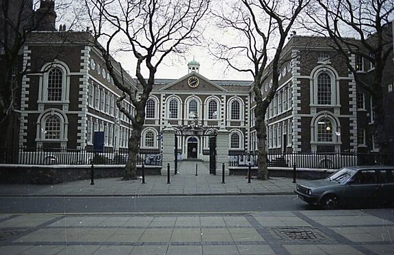 Bluecoat from Church Alley