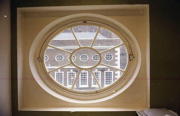 Bluecoat's oval windows