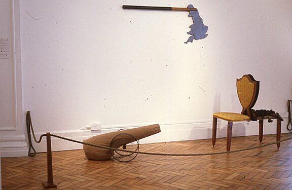 Jo Stockham installation, New Sculpture exhibition