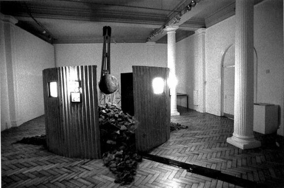 Ivan Unwin installation, North Face exhibition