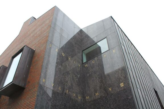 The new arts wing