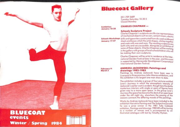 Winter 1984 - Spring 1985 Events Brochure