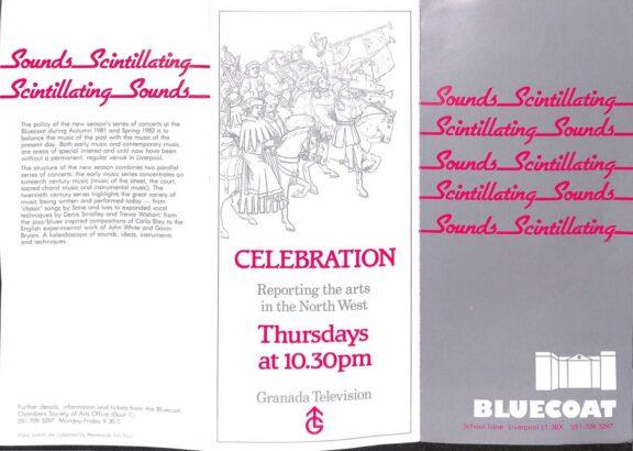 Sounds Scintillating Brochure, 1981-82