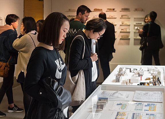 Architecture students' exhibition