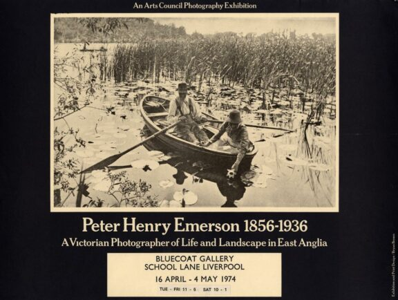 Poster for Peter Henry Emerson exhibition