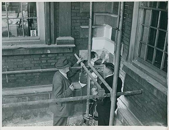 1955 Front Quoins Repair