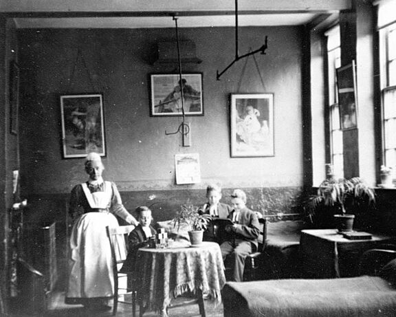 Photograph of a room at the school