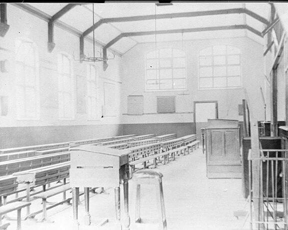 Blue Coat school classroom