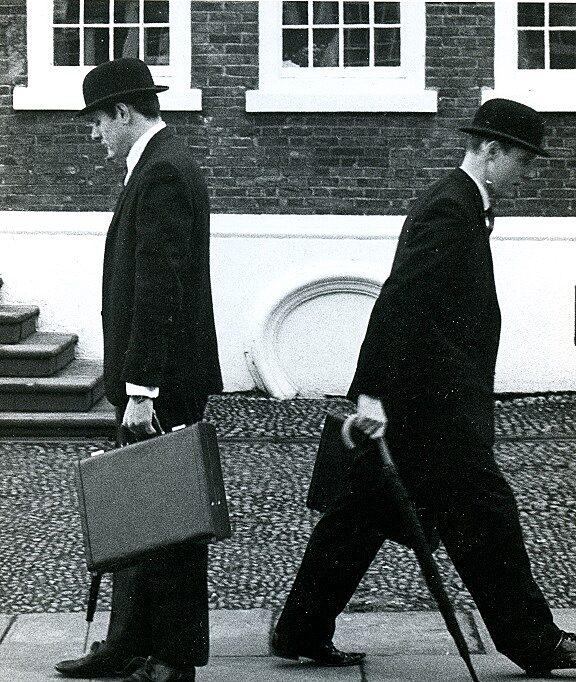 Phil Hughes and Bob Connolly, Executive Golf