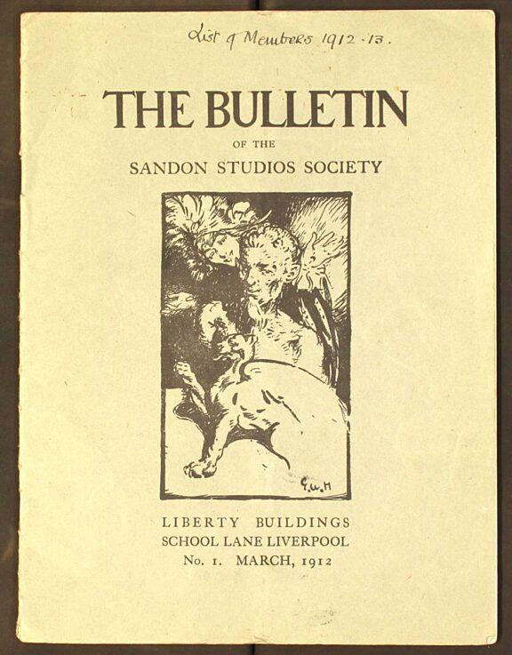 Sandon Bulletin No 1, March 1912