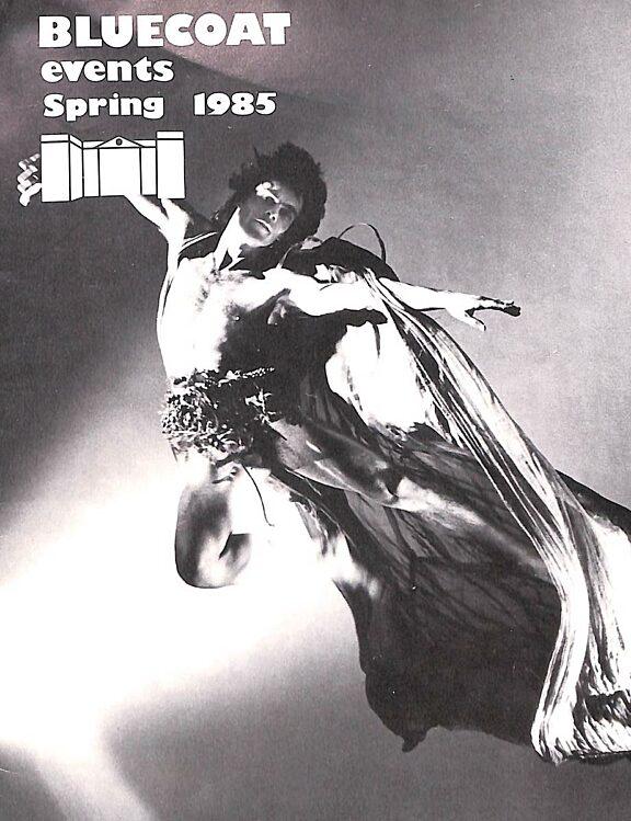 Spring 1985 Events Brochure