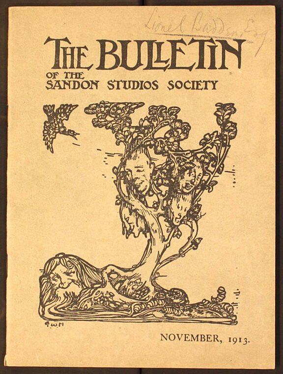 Sandon Bulletin No 7, November 1913
