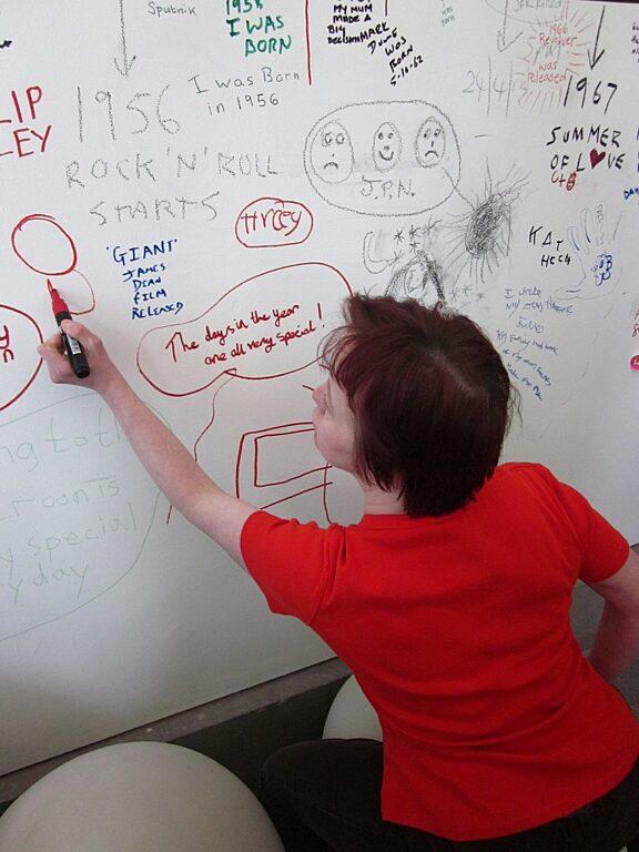 Blue Room artists explore Archiving the Arts Centre