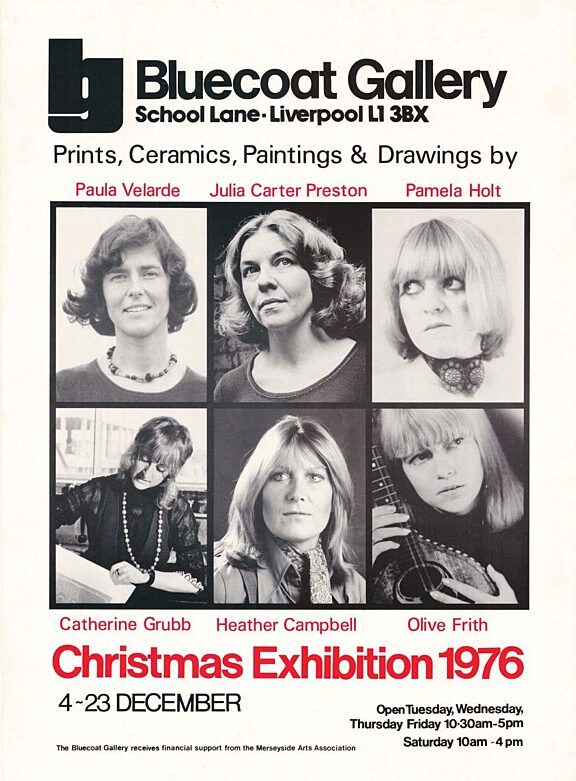 Poster for Christmas Exhibition, 1976
