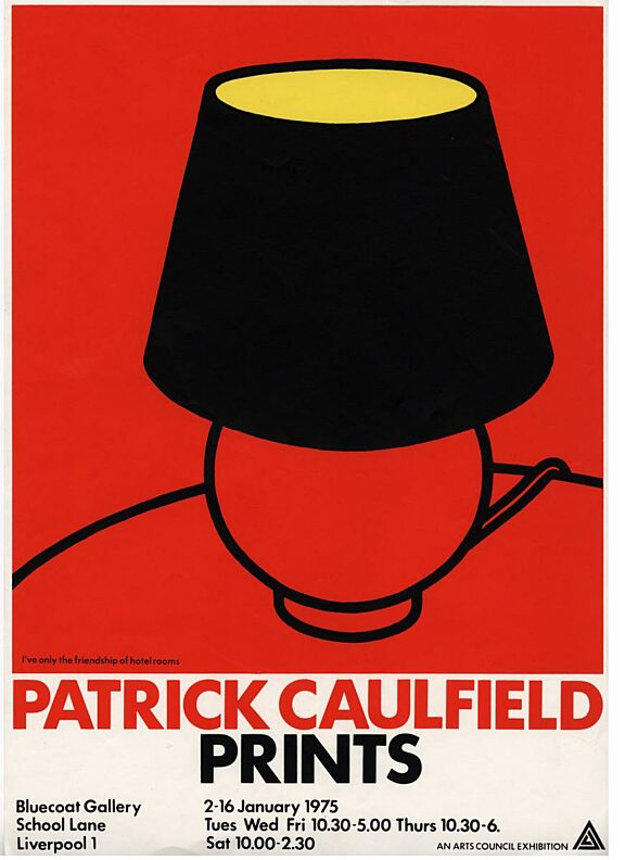 Poster for exhibition, Patrick Caulfield Prints