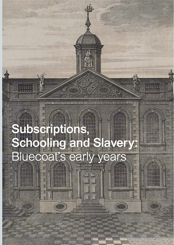 Subscriptions, Schooling and Slavery brochure