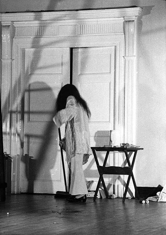 Yoko Ono event at Bluecoat