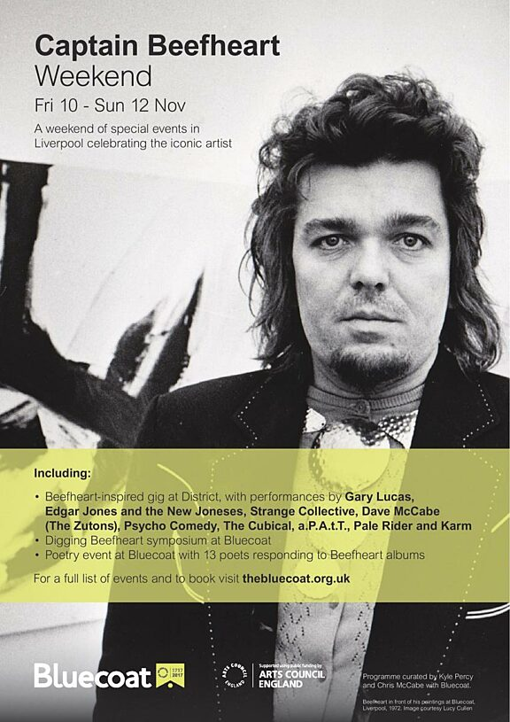 Poster for Captain Beefheart Weekend