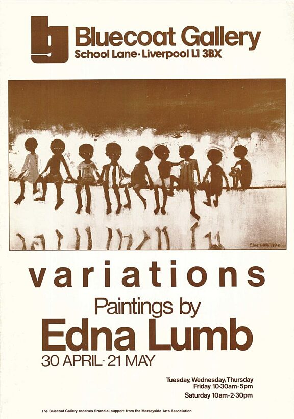 Poster for Variations exhibition by Enda Lumb