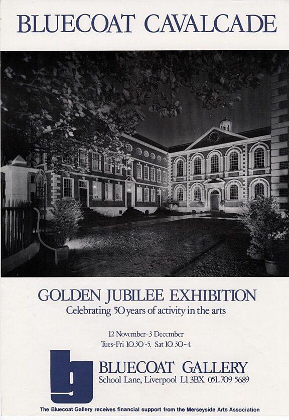 Bluecoat Cavalcade, Golden Jubilee Exhibition poster