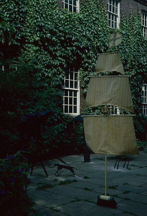 Sculpture In A Garden, Andrew Carnie