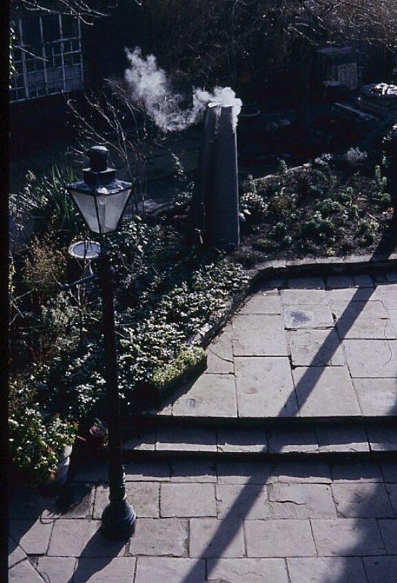 Eilis O'Connell, sculpture in the Bluecoat garden