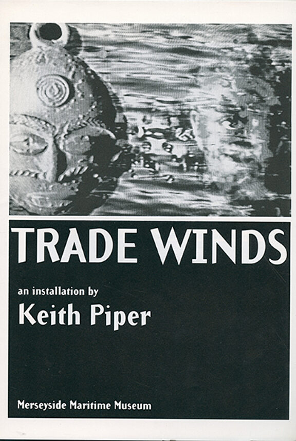 Trophies of Empire: Keith Piper, Trade Winds brochure