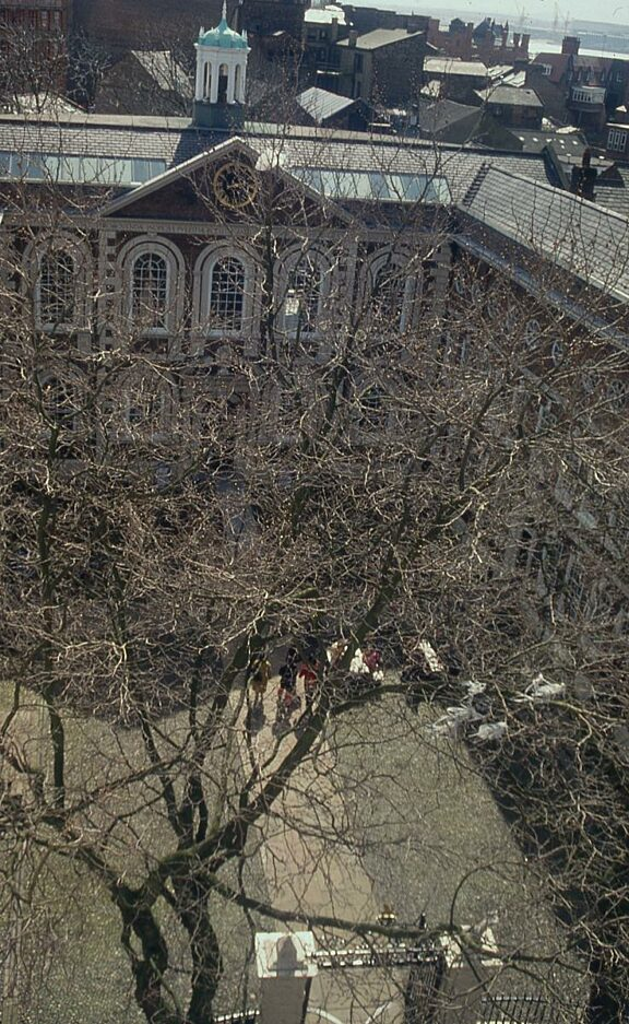 Arial View of Bluecoat