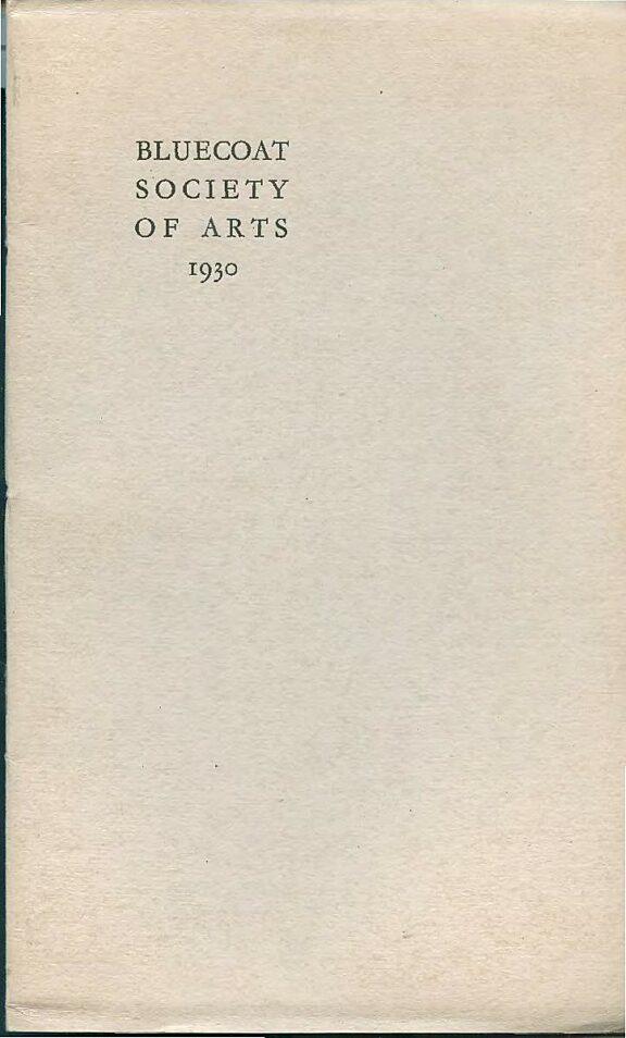 Bluecoat Society of Arts Annual Report