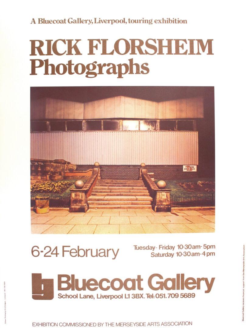 Poster for Rick Florsheim Exhibition