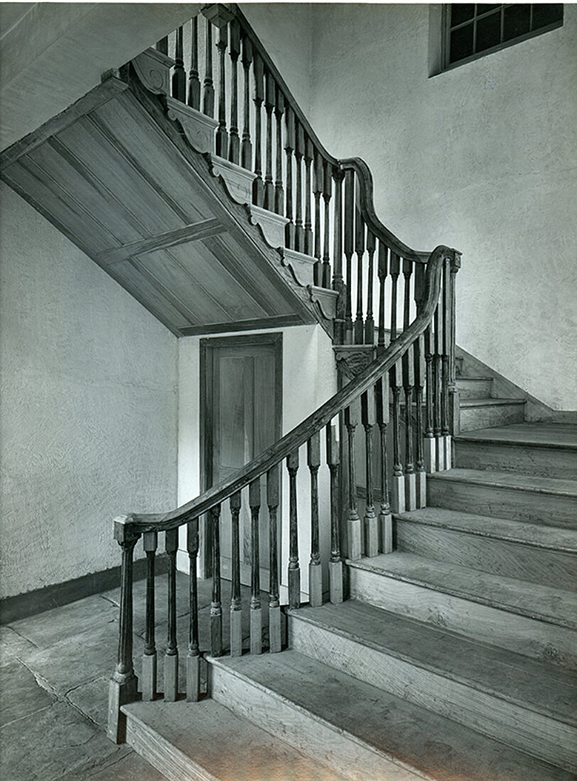 Bluecoat's historic wooden staircase