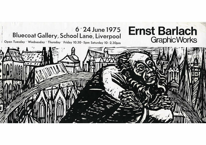 Poster for Ernst Barlach Graphic Works Exhibition